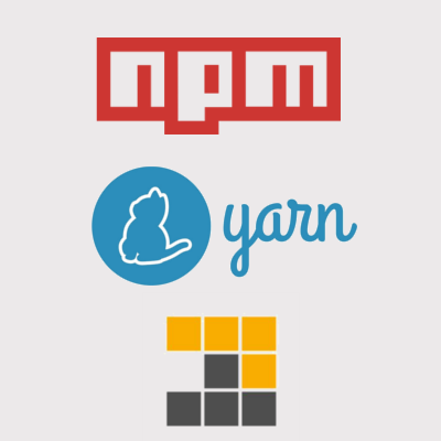 The most popular npm clients are supported